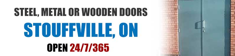 Wood, metal or steel door repair in Stouffville